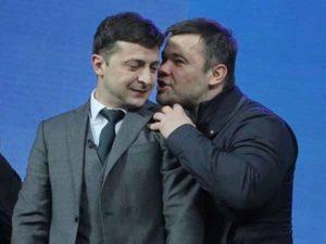 Богдан рассказал, что шептал на ухо Зеленскому